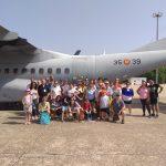 Visita Base Aerea Cursillo 105