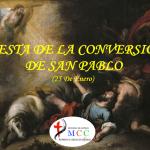 Conversión de San Pablo 2021